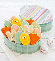 Easter Gift Tin - Cut-out Cookies