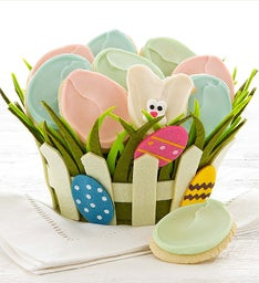 Easter Picket Fence Basket