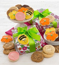 Spring Cookie Gift Boxes