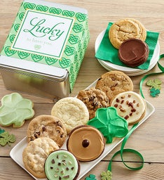 St. Patrick's Day Lucky to Have You Create Your Own Gift Tin