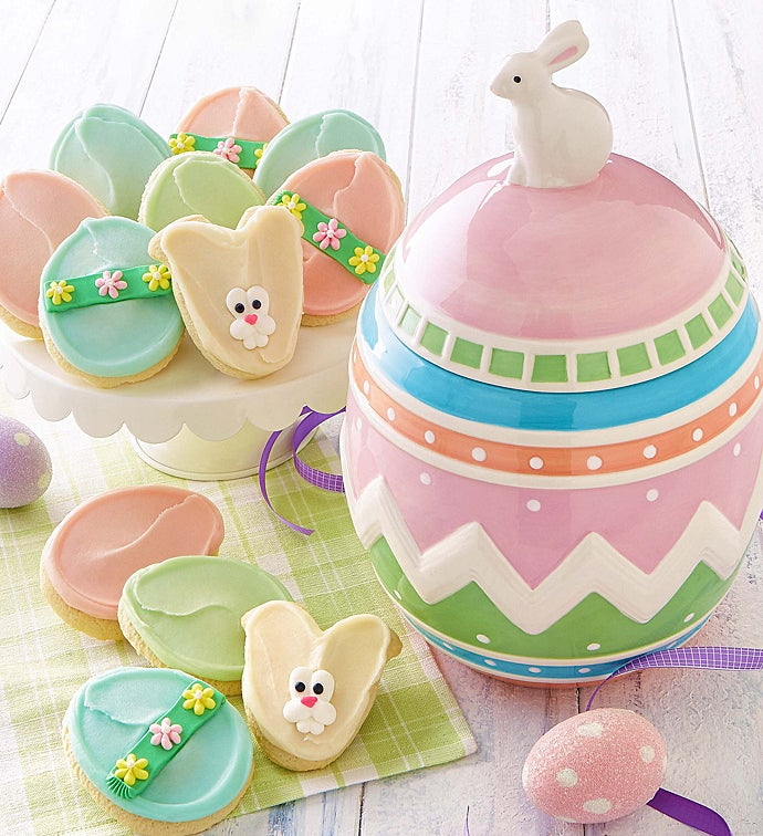 Collectors edition easter egg cookie jar negle Choice Image