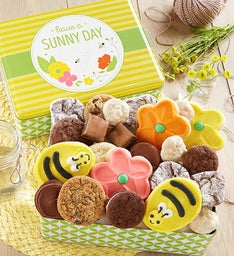 Sunny Day Gift Tin  - Treats Assortment