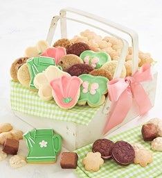 Mother's Day Wooden Basket