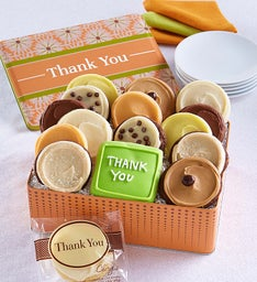 Thank You Gift Tin - Frosted Assortment