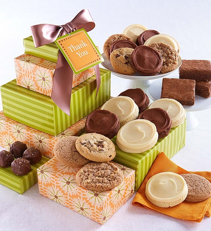 Thank you sugar free gift tower negle Image collections