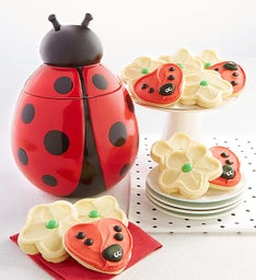 Collectors Edition Lady Bug Cookie Jar