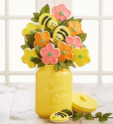Cookie Flower Jar