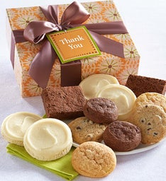 Gluten Free Thank You Cookie & Brownie Gift Box