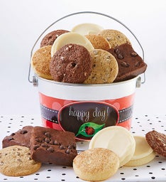 Gluten Free Lady Bug Cookie & Brownie Pail