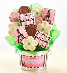 Another Year of Fabulous Cookie Flower Pot