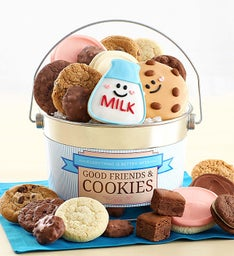 Good Friends and Cookies Treats Pail