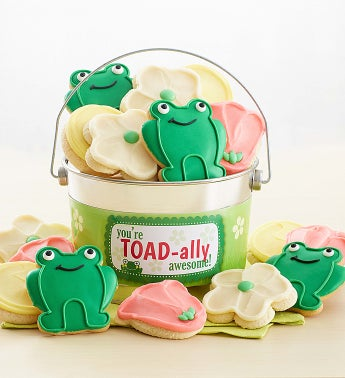 Toad-Ally Awesome Buttercream Frosted And Crunchy Cookie Pail by Cheryl's