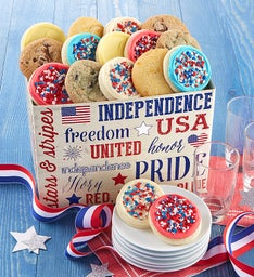 Americana Gift Box Assorted Cookies