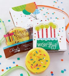 Wish Big Birthday Cookie Card Cases