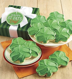 St. Patrick's Day Cookie Boxes