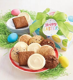 Gluten Free Easter Cookie and Brownie Gift Boxes