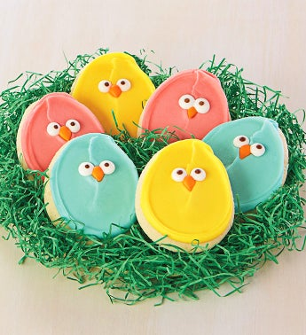 Easter Chick Cookie Sampler