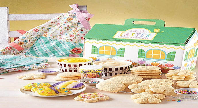 Cheryl39s Easter Cut-out Cookie Decorating Kit