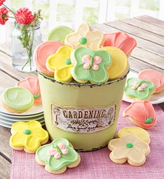 Garden Pot with Cookies