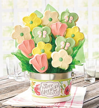Happy Mothers Day Cookie Flower Pot