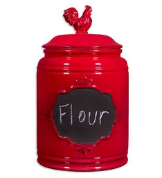 Red Rooster Cookie Jar