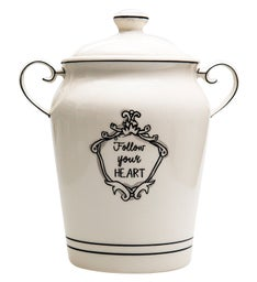 Follow Your Heart Cookie Jar
