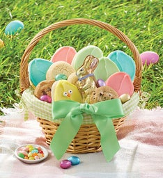 Cheryls cookie baskets cookies treats gift baskets cheryls the ultimate cheryls easter basket medium negle Image collections