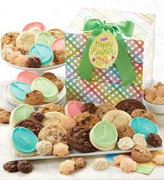 Easter cookies treats easter basket cookies cheryls easter treats gift tower negle Choice Image