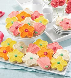 Buttercream Frosted Cut-out Cookies