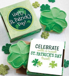 Celebrate St Patrick's Day Cookie Card