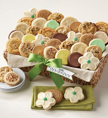 Sympathy Dessert Basket - Grand snipeImage