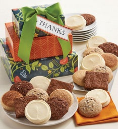 Gluten free cookies and brownies cheryls gluten free thank you gift tower negle