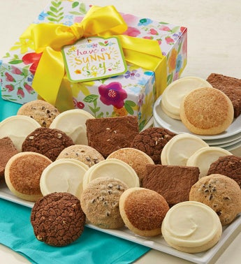 Gluten Free Have A Sunny Day Box 10 Cookies & 2 Brownies