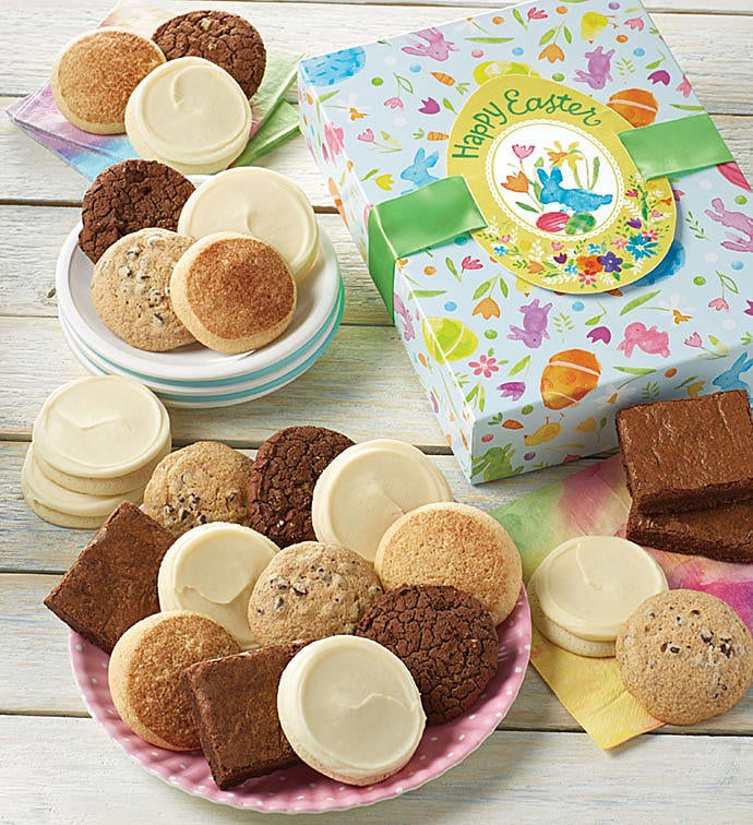 Free easter cookie and brownie gift boxes gluten free easter cookie and brownie gift boxes negle Image collections