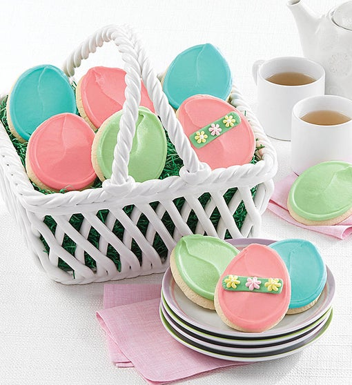 Collector's Edition Ceramic Easter Basket