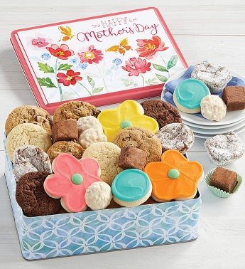 Mother39s Day Gift Tin - Treats Assortment