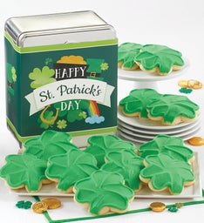 Happy St Patricks Day Gift Tin
