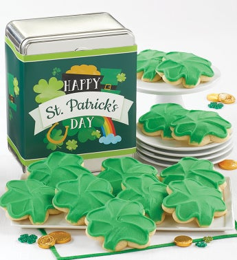 Happy St Patricks Day Gift Tin