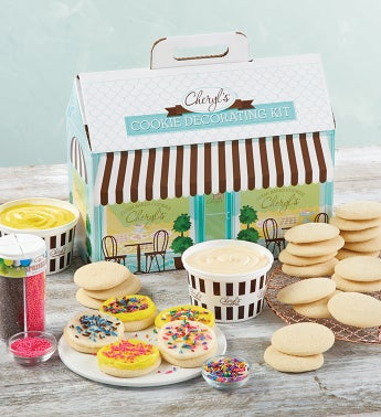 Cheryls Cut Out Cookie Decorating Kit