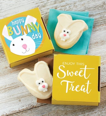 Bunny Day Cookie Card