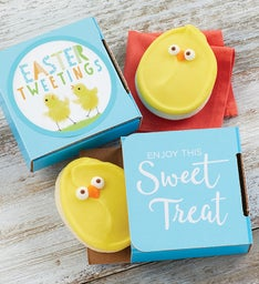 Easter Tweetings Cookie Card