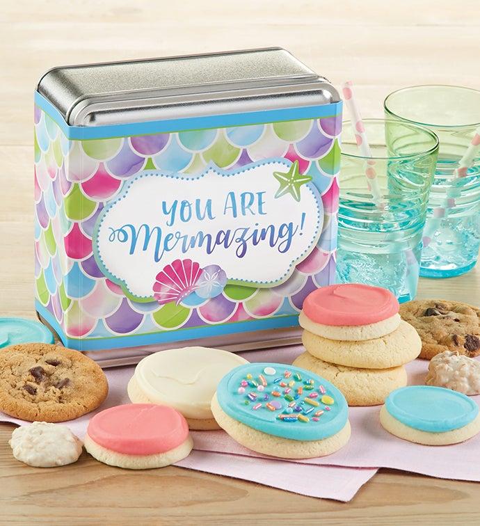 You are Mermazing Treats Gift Tin