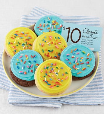 Cookies Birthday Cookie Sampler + $10 Cheryl's Reward Card