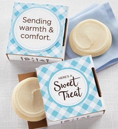 Sending Warmth and Comfort Cookie Card