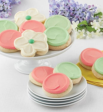 Buttercream Frosted Cut-out Cookies - 12