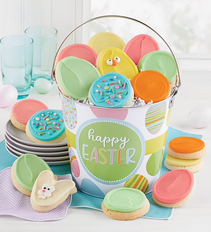 Happy Easter Cookie Pail