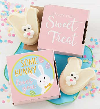 Some Bunny Loves You Cookie Card