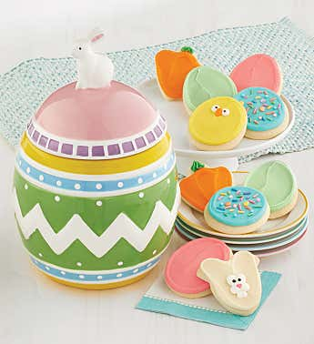Collectors Edition Egg Cookie Jar