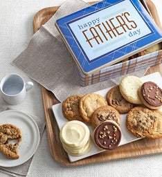 Father's Day Gift Tin Assorted Cookies