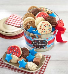 Americana Treats Pail